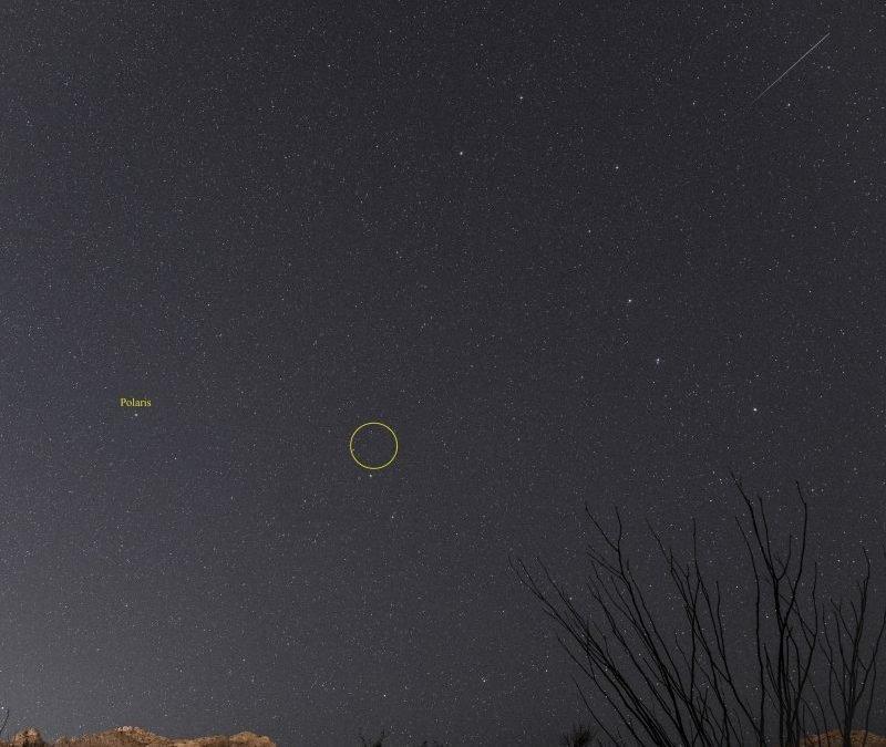 Ursid meteors to peak in moonlight